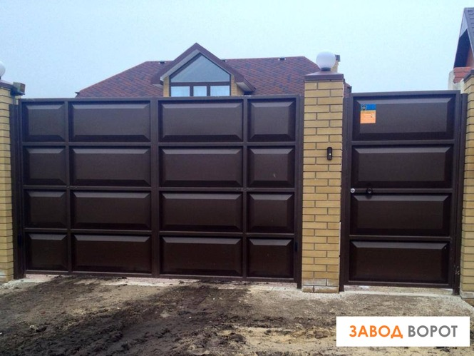 Купить автоматические ворота в харькове дача какой забор